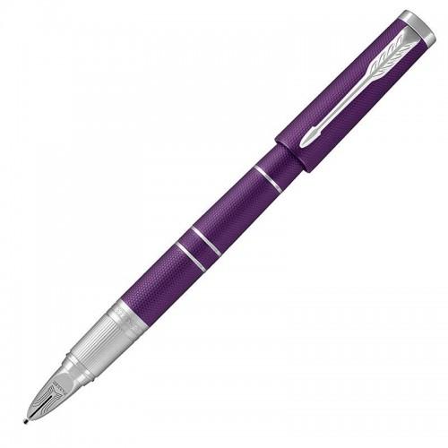Ручка Parker (Паркер) 5th Ingenuity Deluxe Slim Blue Violet CT в Омске