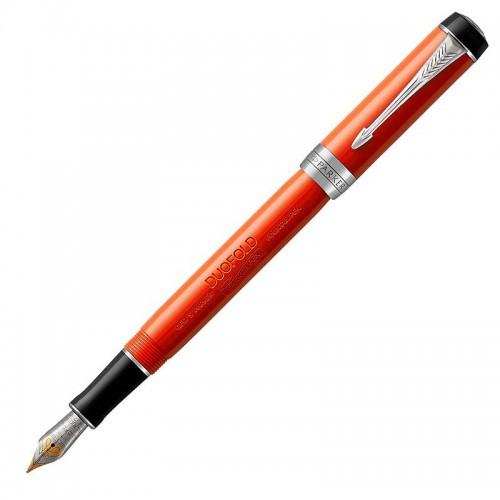 Перьевая ручка Parker (Паркер) Duofold International Classic Big Red Vintage CT F в Омске