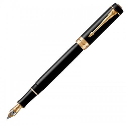 Перьевая ручка Parker (Паркер) Duofold Classic International Black GT F в Омске