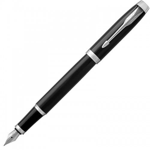 Перьевая ручка Parker (Паркер) IM Core Black Chrome CT F в Омске