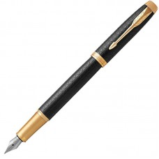 Перьевая ручка Parker (Паркер) IM Premium Black/Gold GT F