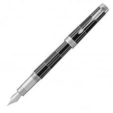 Перьевая ручка Parker (Паркер) Premier Luxury Black CT F