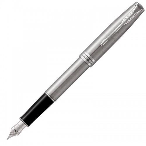 Перьевая ручка Parker (Паркер) Sonnet Core Stainless Steel CT F в Омске