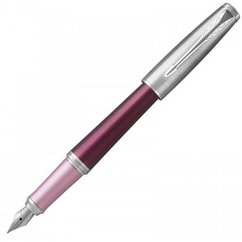 Перьевая ручка Parker (Паркер) Urban Premium Dark Pink CT F в Омске