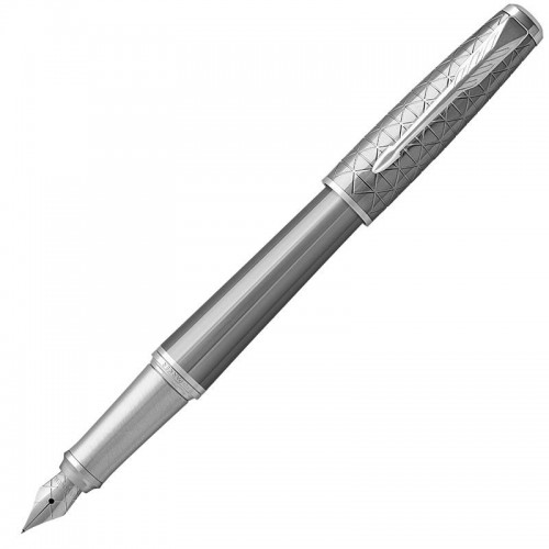 Перьевая ручка Parker (Паркер) Urban Premium Silvered Powder CT F в Омске
