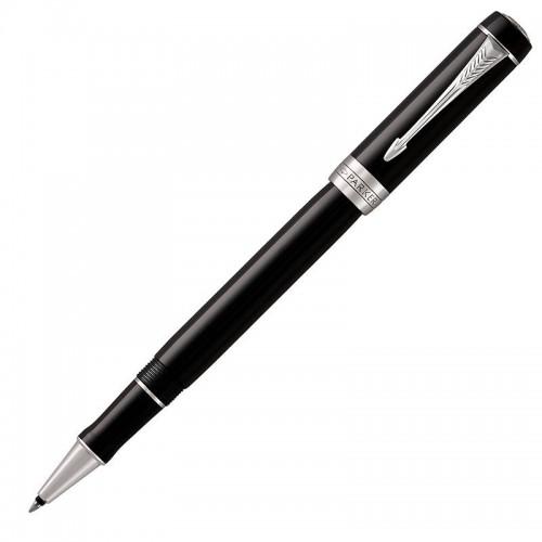 Ручка-роллер Parker (Паркер) Duofold Classic Black CT в Омске