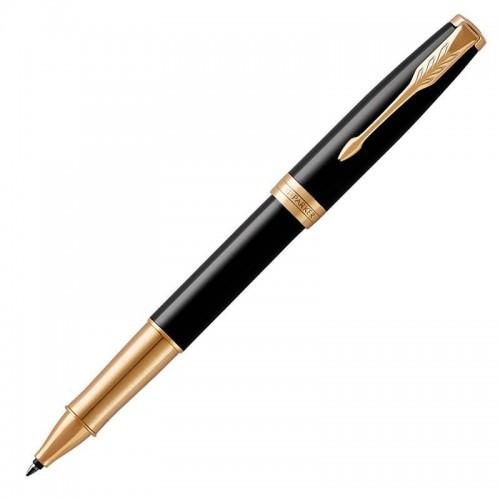 Ручка-роллер Parker (Паркер) Sonnet Core Black Lacquer GT в Омске