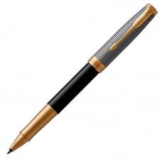 Ручка-роллер Parker (Паркер) Sonnet Premium Black Silver GT