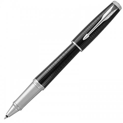 Ручка-роллер Parker (Паркер) Urban Premium Ebony Metal Chiselled CT в Омске