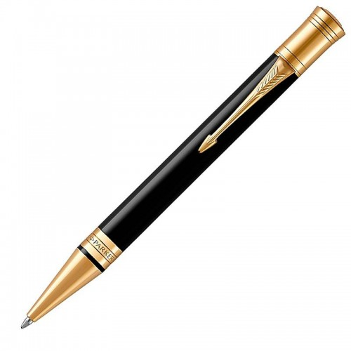 Шариковая ручка Parker (Паркер) Duofold Classic Black GT в Омске