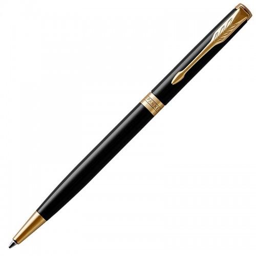 Шариковая ручка Parker (Паркер) Sonnet Core Slim Black Lacquer GT в Омске