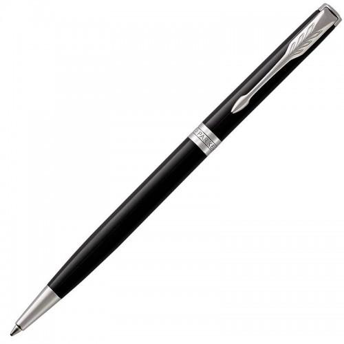 Шариковая ручка Parker (Паркер) Sonnet Core Slim Black Lacquer CT в Омске