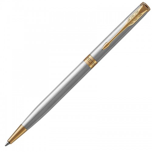 Шариковая ручка Parker (Паркер) Sonnet Core Slim Stainless Steel GT в Омске
