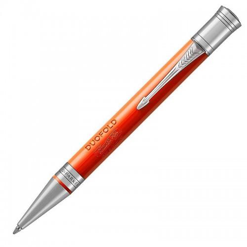 Шариковая ручка Parker (Паркер) Duofold Classic Big Red Vintage CT в Омске