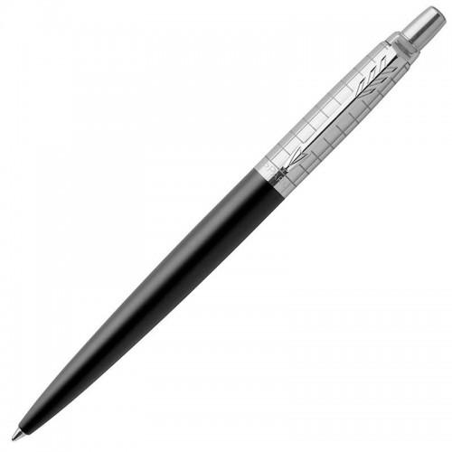 Шариковая ручка Parker (Паркер) Jotter Premium Bond Street Black Grid CT в Омске