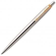 Шариковая ручка Parker (Паркер) Jotter Gel Core Stainless Steel GT с гелевым стержнем