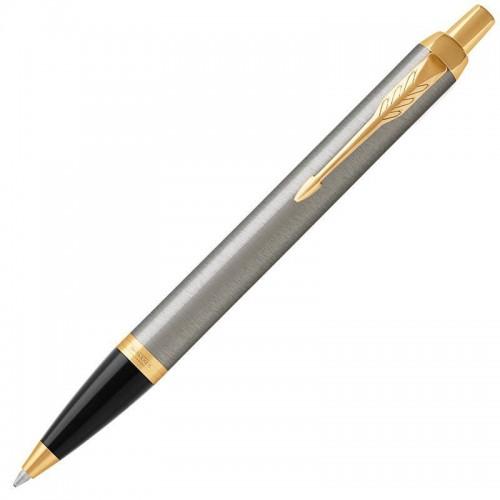 Шариковая ручка Parker (Паркер) IM Core Brushed Metal GT в Омске