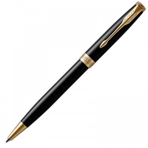 Шариковая ручка Parker (Паркер) Sonnet Core Black Lacquer GT в Омске