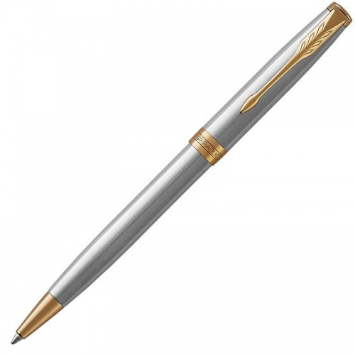Шариковая ручка Parker (Паркер) Sonnet Core Stainless Steel GT в Омске