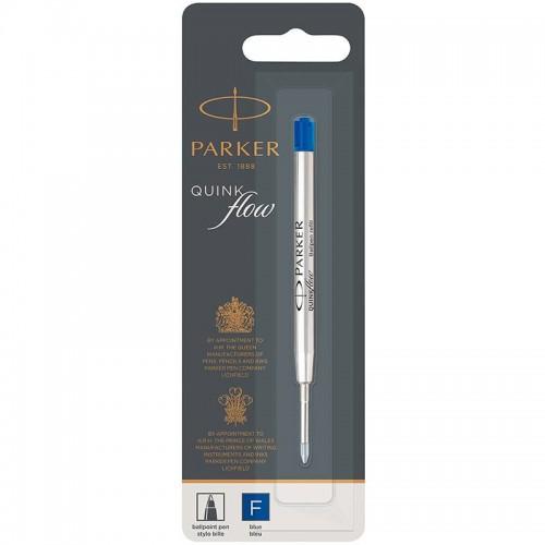 Синий шариковый стержень Parker (Паркер) Ball Pen Refill QuinkFlow Premium F Blue в Омске
