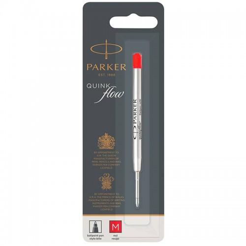 Красный шариковый стержень Parker (Паркер) Ball Pen Refill QuinkFlow Premium M Red в Омске